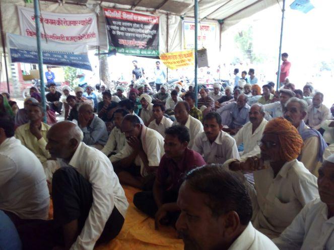 Narmada Satyagarha at Rajghat Aug 2016