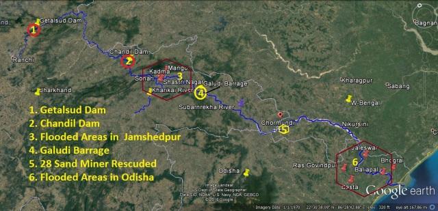 Subarnrekha Jharkhand Flood