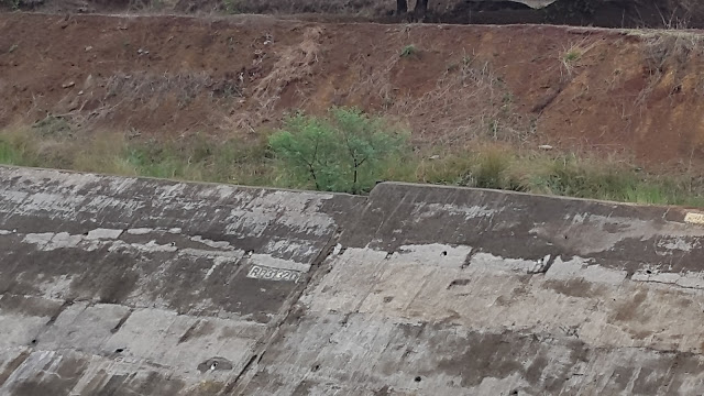 Retaining wall of Gosikhurd RBC slid down from its location (Photo: Jan Manch)