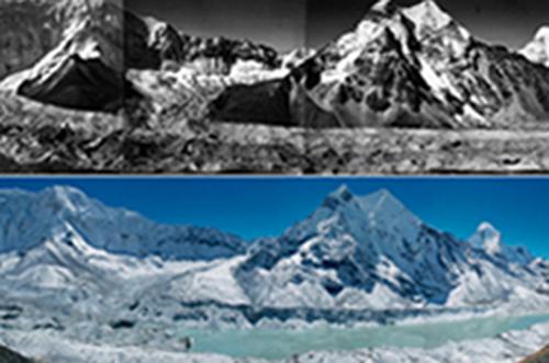 Imja glacial lake, Solukhumbu