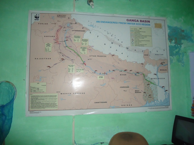 Ganga Basin map