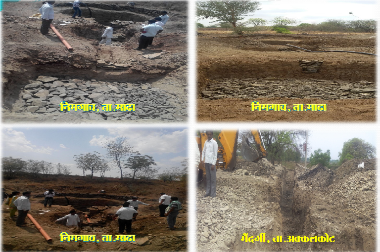 Works carried under Jal Yukt Shivar in Solapur (Photo: by Collectorate)