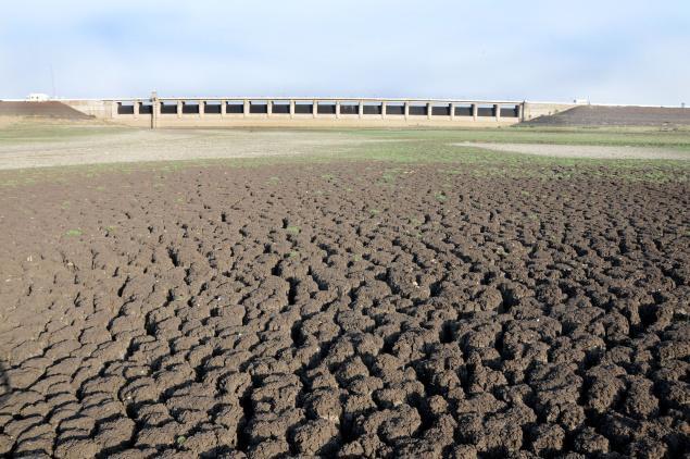 Dry Manjara Dam of Latur (Photo: The Hindu)