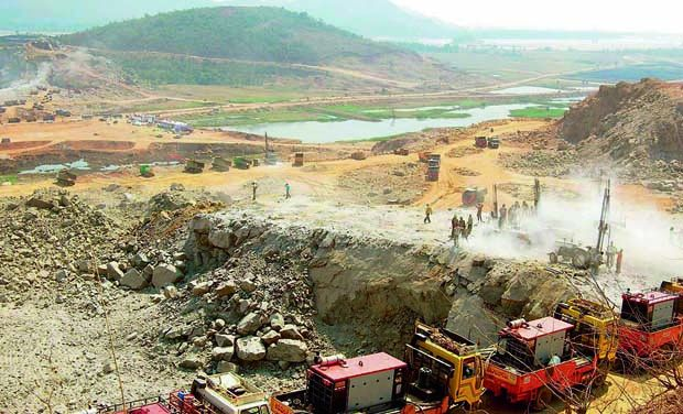 Polavaran Dam Construction (Photo: Deccan Chronicle)