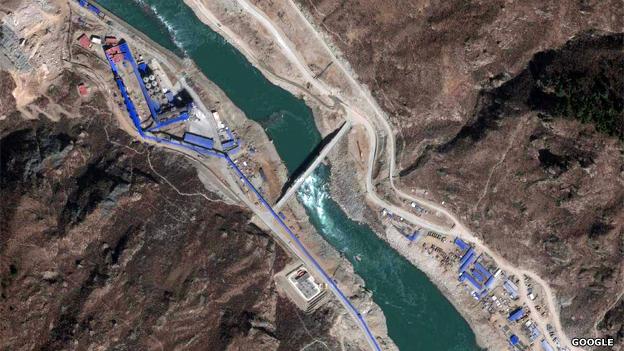 Zangmu Dam on Brahmaputra (Photo: BBC)