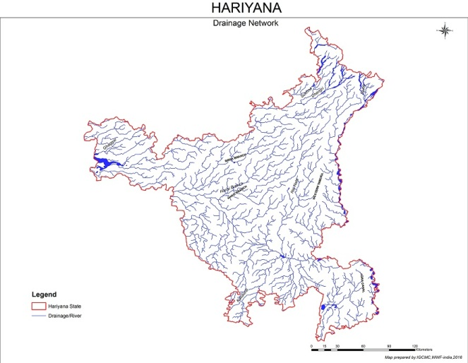 Hariyana_Drainage_map1