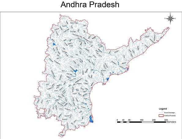 Rivers Profile Of Andhra Pradesh And Telangana States Sandrp