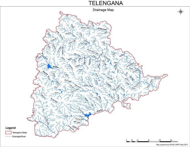 TELENGANA_Drainage_map1