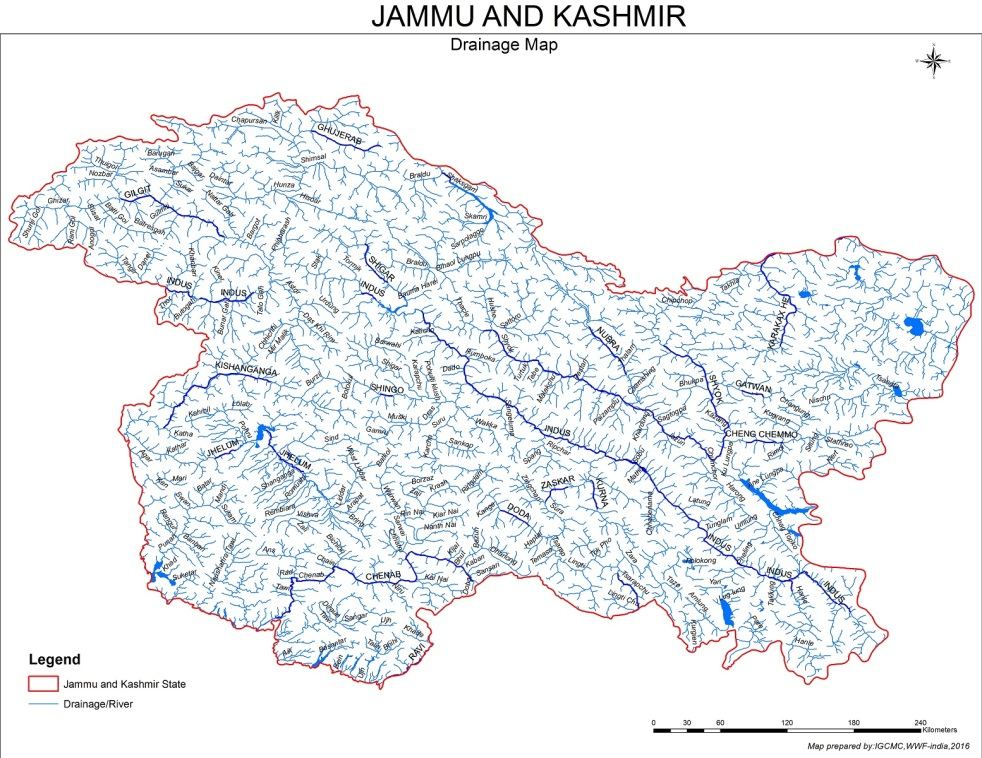 Jammu and Kashmir Rivers Profile (Jhelum and Chenab Basins ... on msn india, partition of india, research on india, five-year plans of india,