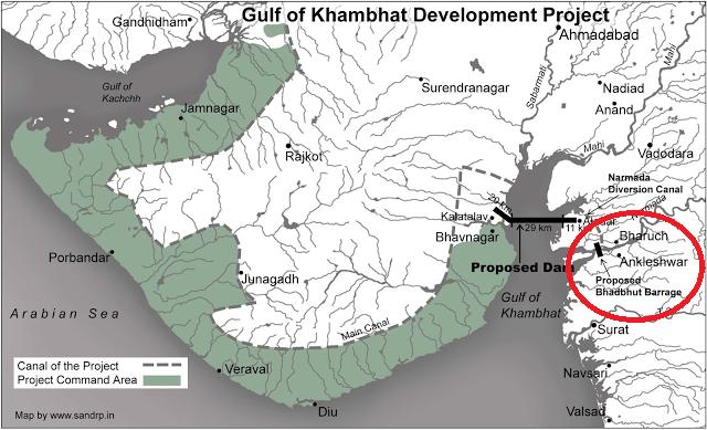 Bhadbhut Dam