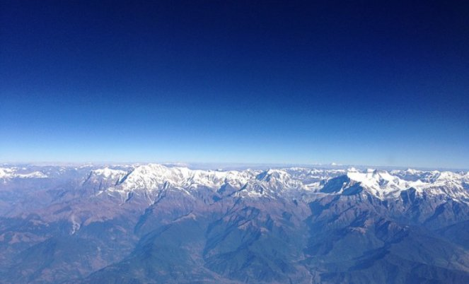 A view of the Himalayas (Source IWP Flickr photos, photo for representation purpose only)
