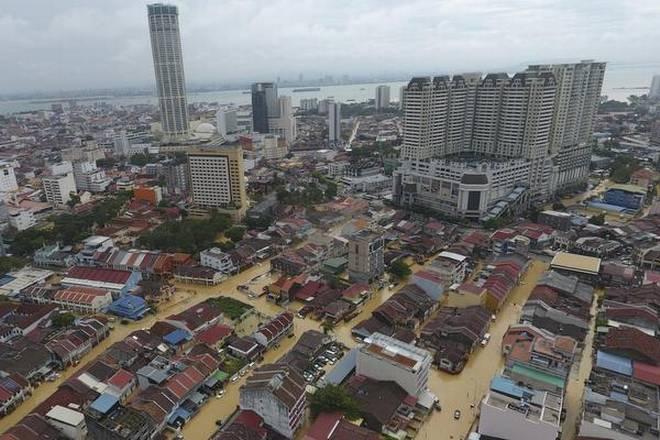 Malaysia flood Penag