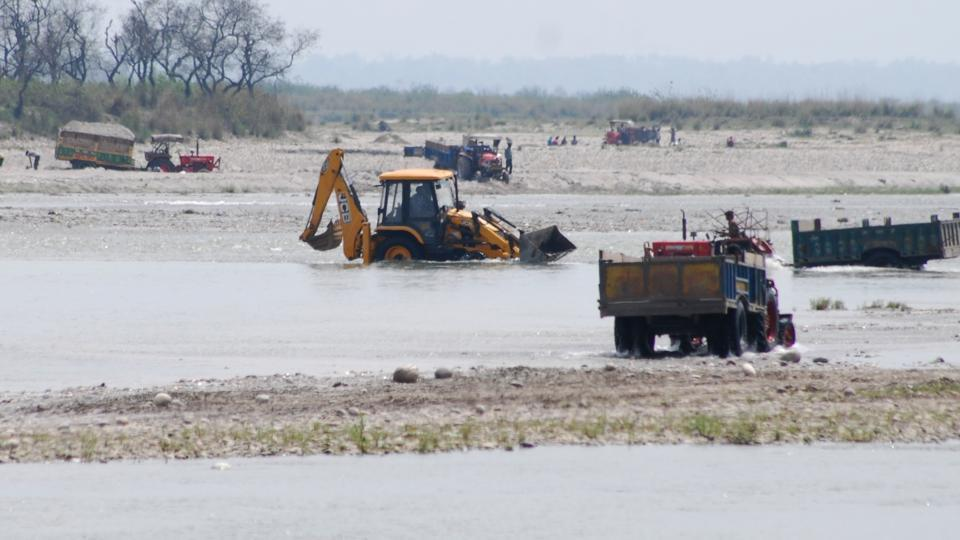 Following the Uttarakhand HC order, mining work has come to a halt in rivers such as Ganga, Yamuna, Gaula, Kosi, Dabka, and Kali and nearly 100 seasonal rivers and rivulets apart from fo
