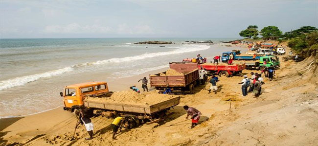 Government revises sand policy