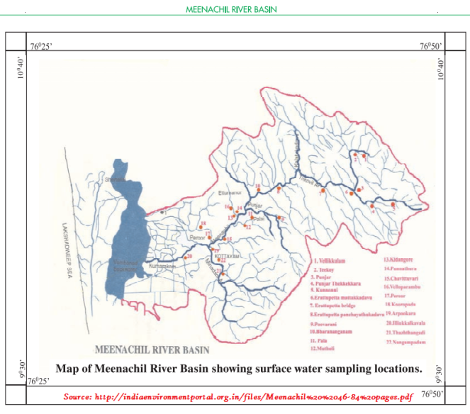 Meenachil River Basin Map.png
