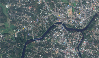 Moovathupuzha river in Kerala (Google Earth Image by N Ramdas Iyer)