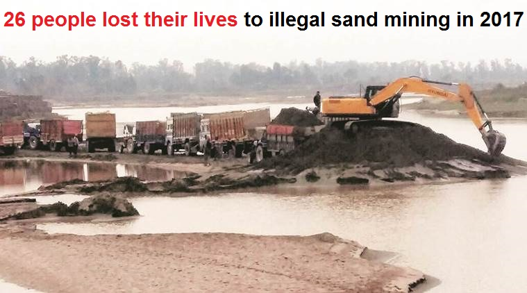 n an attempt to crack down on illegal sand mafia operating in and around the river beds, the Gujarat government, for the first time, will be deploying drones for surveillance. (Represent