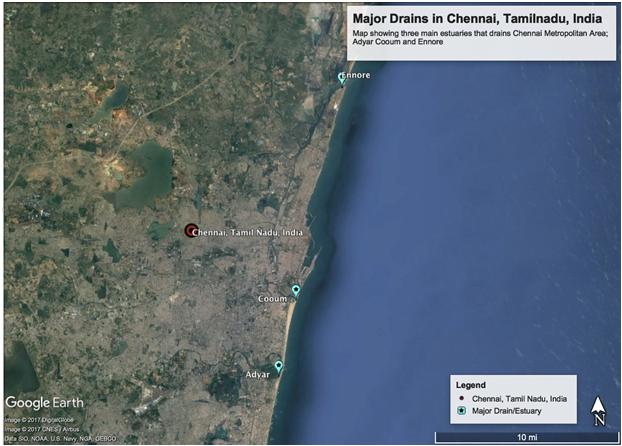 Major Drains in Chennai