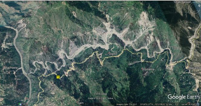 Ramban Landslides Mapcarta map