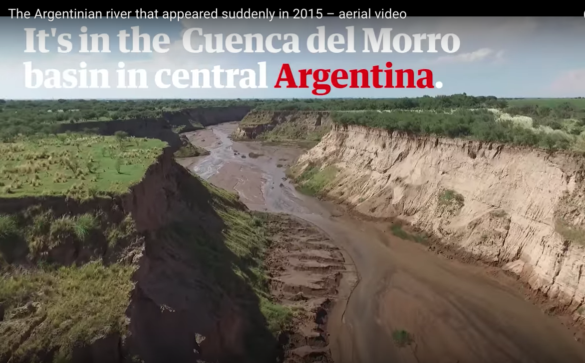 039a5d7467 DRP News Bulletin 2 April 2018  How New Rivers are born in Argentina ...
