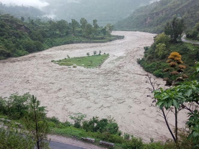 10 Yamuna River at Tiladi, Badkot, Uttarkashi