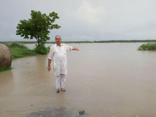 17 Yamuna River Kanalsi Yamuna Nagar 28 July 2018