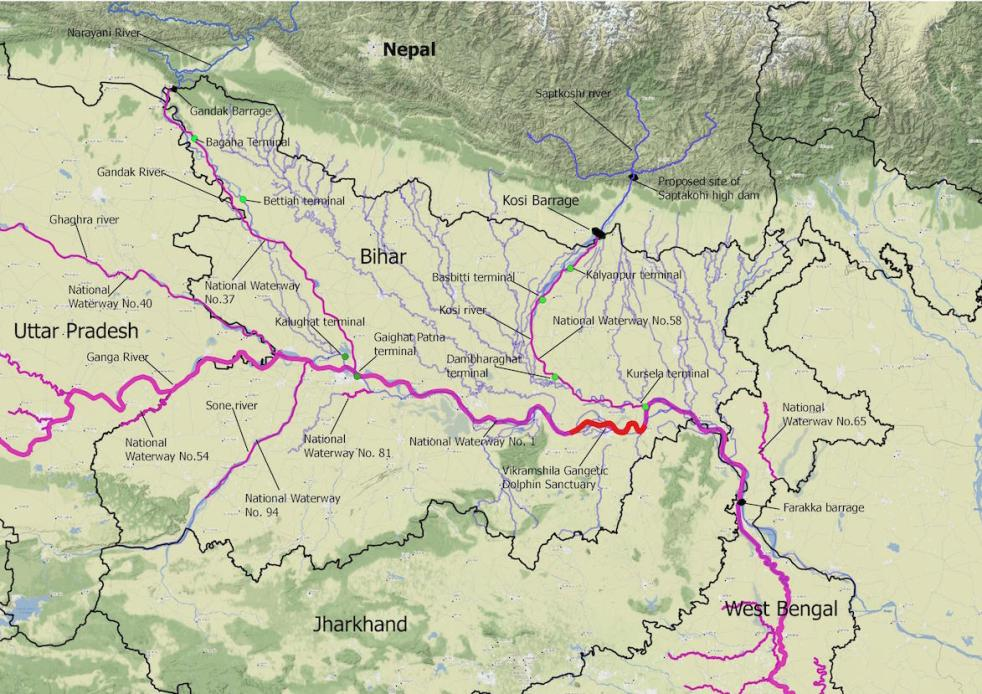 National Inland Waterways in Bihar: Viable or desirable
