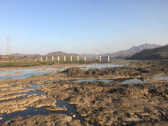 No one can step in same river twice, but where is water? Location - Gora bridge, Kevadiya Colony - Janantik Shukla