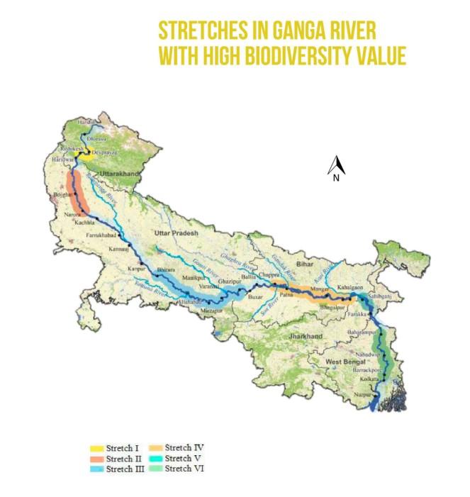 Ganga-biodiversity-map