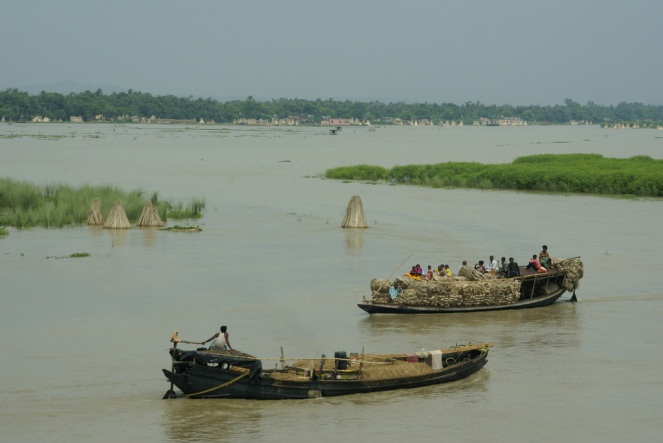 Ganges near Farakka (photo-Sarah Jamerson-Flickr)