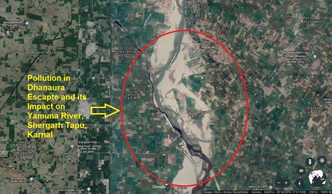 18 Karnal Dhanaura Drain GE Image