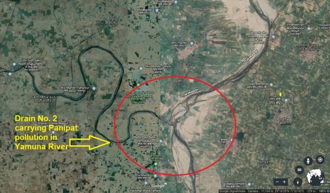 23 Panipat Drain GE Image