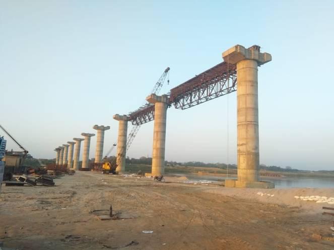 43 B Ekda Bridge on Yamuna 10 4 19
