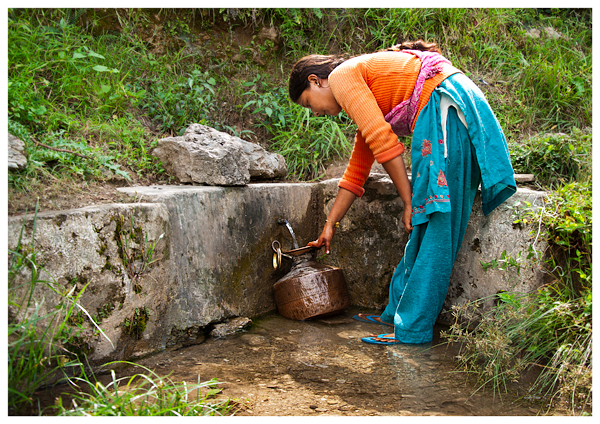 springs such as this at sutra have traditionally been used for domestic water source Photo from CHIRAG