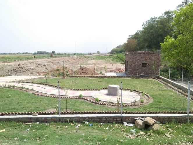 Encroached Yamuna Floodplain, Jagatpur.