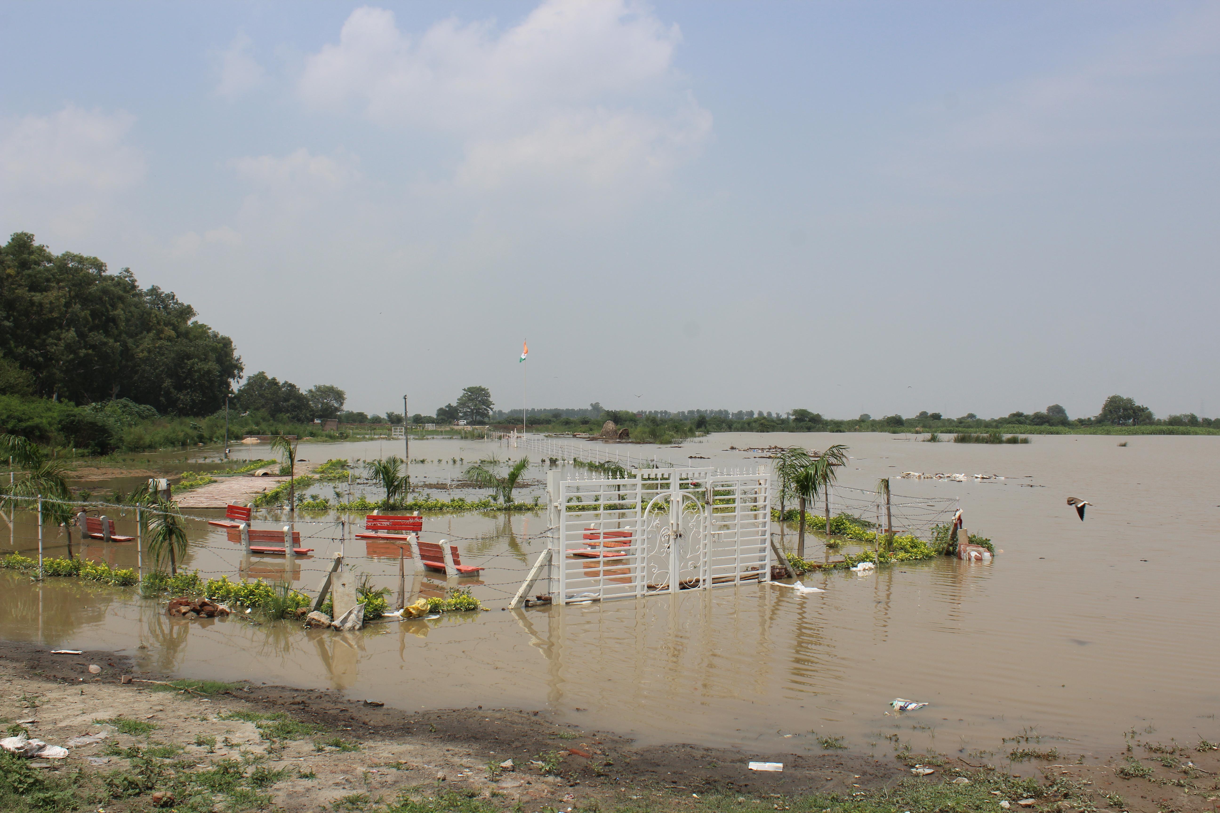 Aug 2019 Yamuna Flood: Floodplain Encroachments Exposed