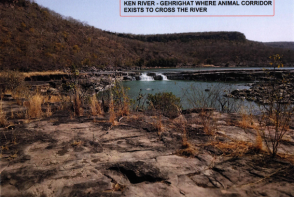 Gehrighat along Ken River where River crossing corridor exists now - Source CEC Report Aug 2019