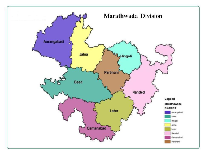 Marathwada map