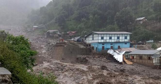 Arunachal Pradesh Cloud Burst 2019