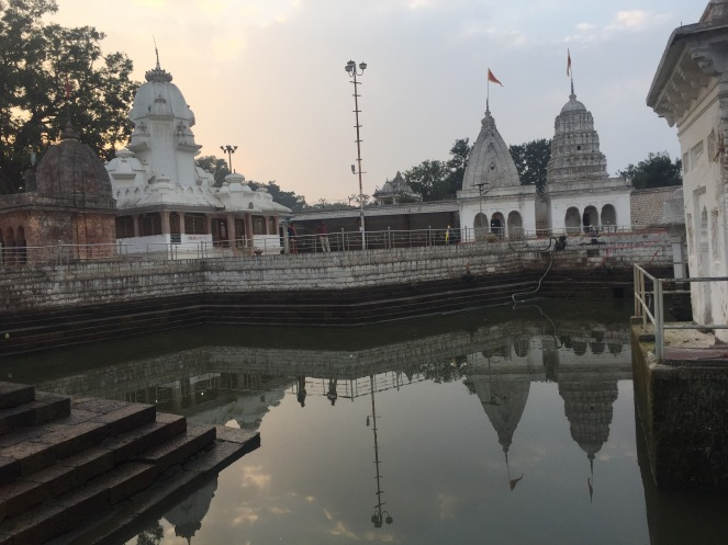 Narmada Kund, where it is believed that the river originates