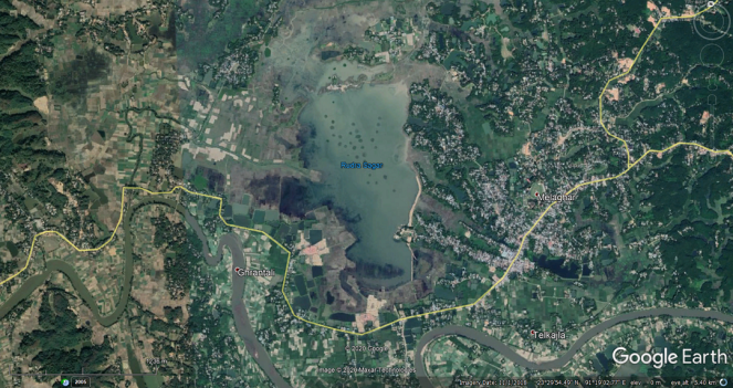 28 Rudrasagar Lake