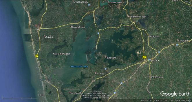 35 Ashtamudi Wetland