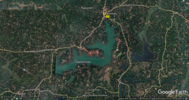 36 Sasthamcotta Lake