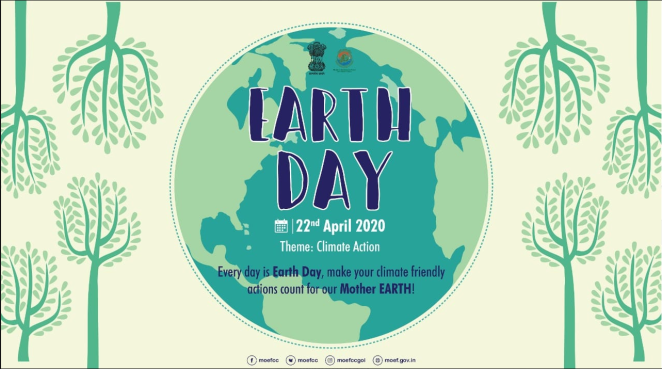 MoEFCC on Earthday 2020