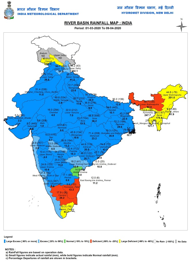 RIVERBASIN_RAINFALL_MAP_COUNTRY_INDIA_cd 1320-8420 a