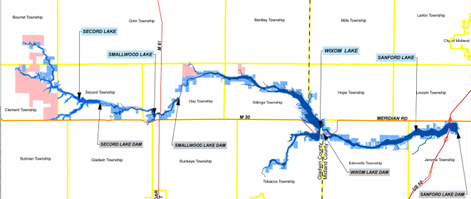 Map from Four Lakes Task Force Report