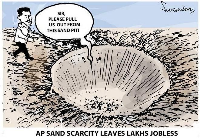 Andhra Pradesh Sand Scarcity